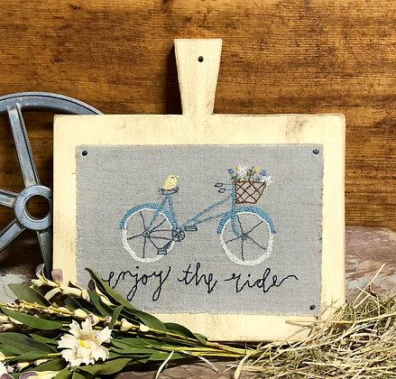 "NEW!  #824 ""Enjoy the Ride - Spring"""