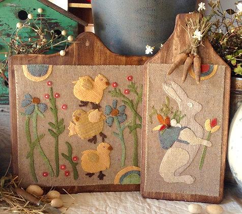 "#274 ""Sweet Spring"" Wool Appliqué Pattern"