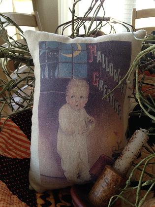 "Olde Vintage ""Ghost Stories"" Pantry Pillow"