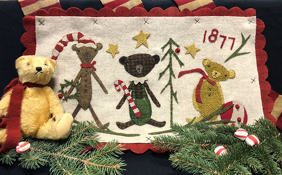 "NEW!  #440 ""Merry Christmas Olde Bears"""