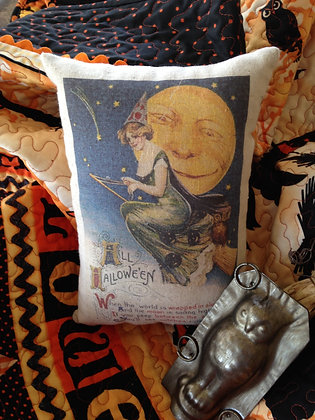 "Olde Vintage ""All Halloween"" Pantry Pillow"