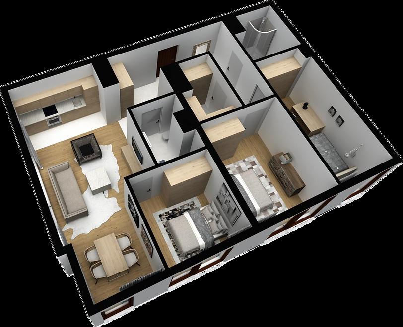 mieszkanie parter M11 matex development-