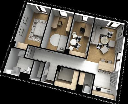 mieszkanie parter M3 matex development-b