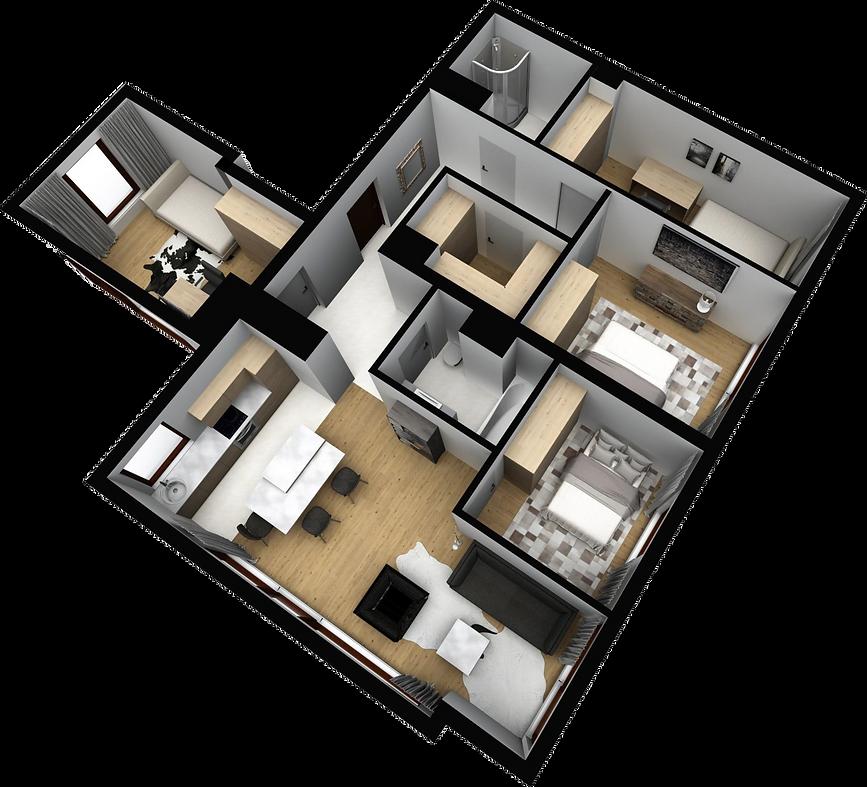 mieszkanie parter M12 matex development-