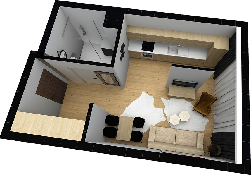 mieszkanie parter M2 matex development-b
