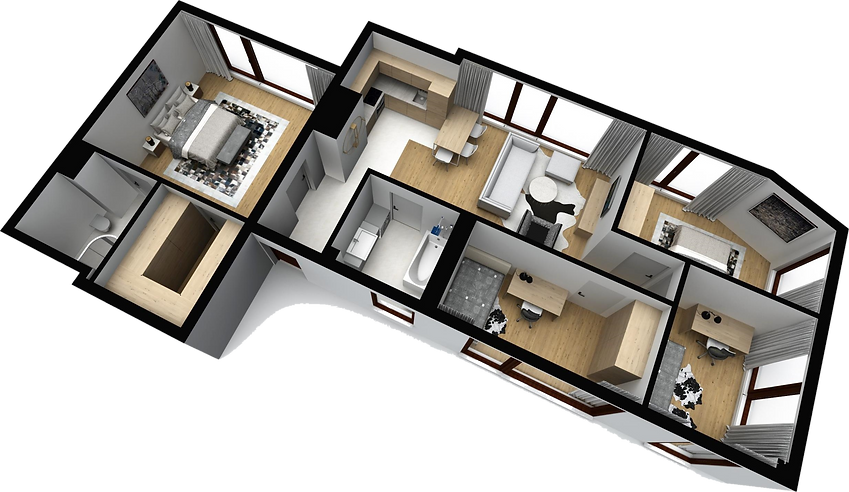 mieszkanie parter M10 matex development-