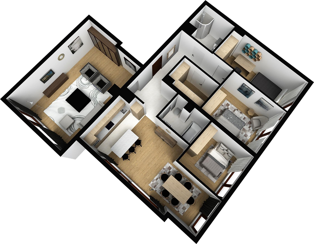 mieszkanie parter M5 matex development-b