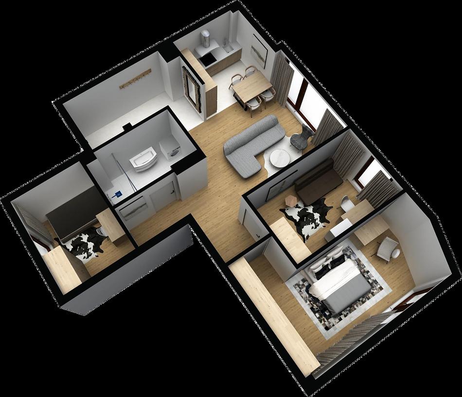 mieszkanie parter M1 matex development-b