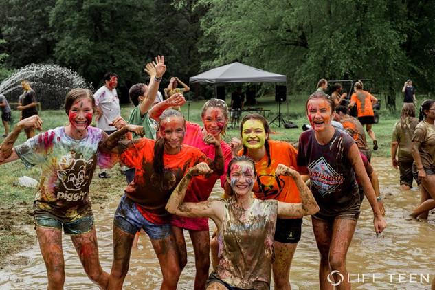 Mud squad.