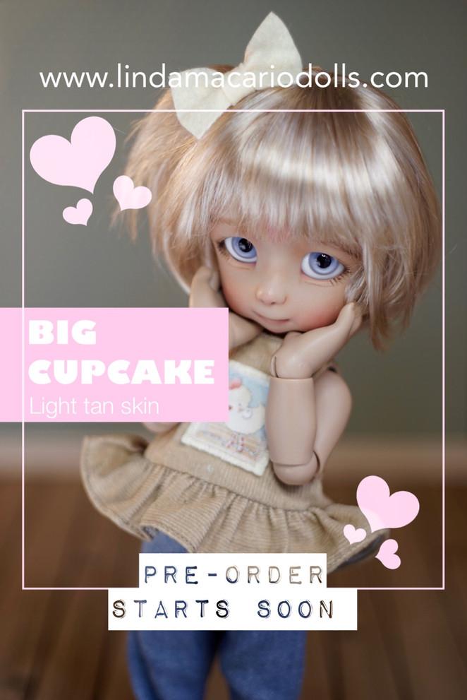 Big Cupcake, light tan skin