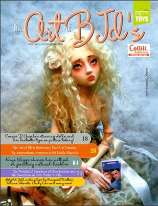 Art BJD's (pretty toys magazine)