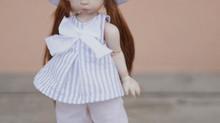 Lulù porcelain bjd doll