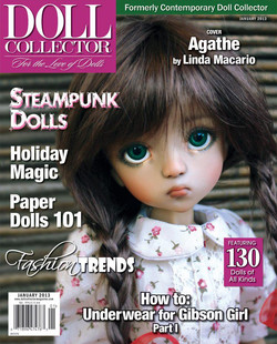 Contemporary doll collector