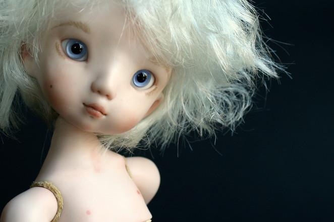 """Porcelain doll """"Mia"""""""