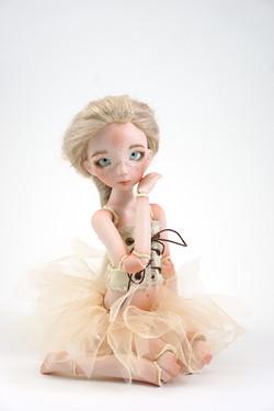 Ballerina - porcelain bjd