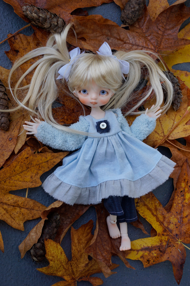 Clover, customized ooak full set doll