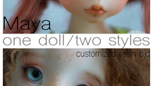 Maya, customized resin bjd