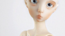 New resin doll for new doll show