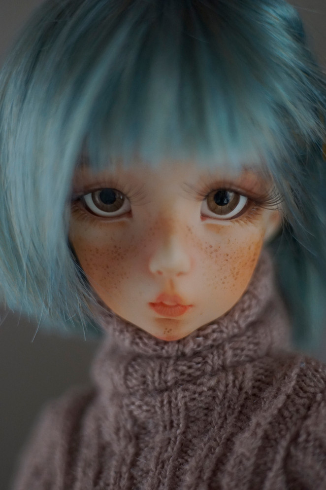 Greta - ooak sample resin bjd
