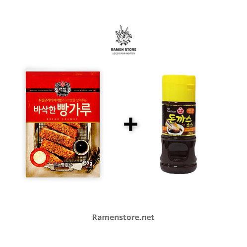 Pack Panko 450g + Salsa Tonkatsu