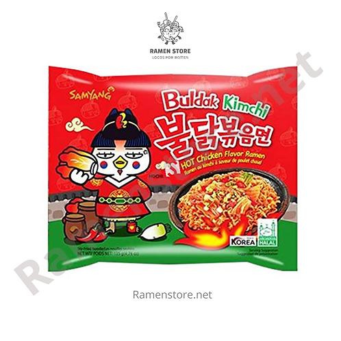 Ramen Buldak Kimchi, ExtraPicante [Nivel 3] Samyang