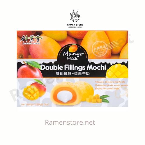 Mochi Doble Relleno [Mango y Leche] Taiwanes