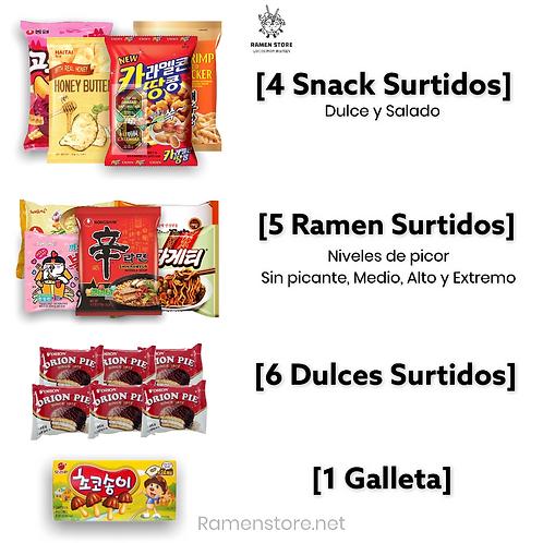 Pack Ramencito [Snack y Ramen]