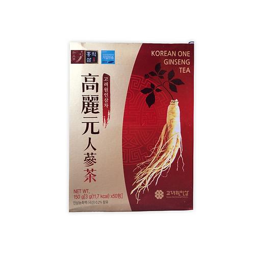 Te Ginseng Coreano / 50 unidades