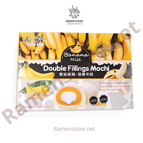 Mochi Full Relleno [Banana Milk] Taiwanes