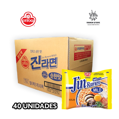 Jin Ramen [Caja 40 unidades  5x8]