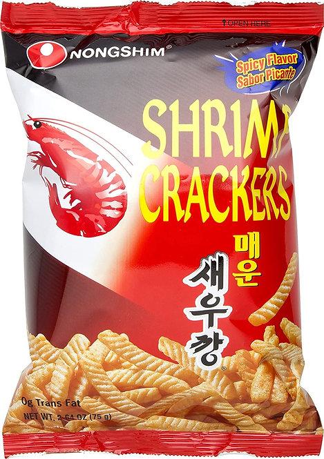 Shrimp Crackers [Snack de Camaron Picante]