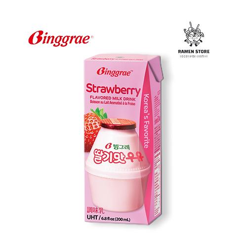 Milk Fresa - Binggrae
