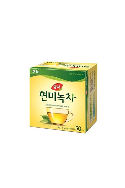 Te Verde Coreano y Arroz integral - 50 unidades