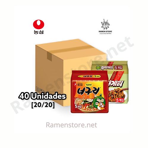 Caja Chapaguri [20 Chapagetti +20 Noguri]