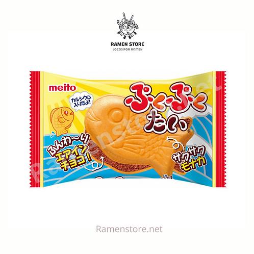 Puku Puku Tai [Dulce Relleno de Chocolate] Japones