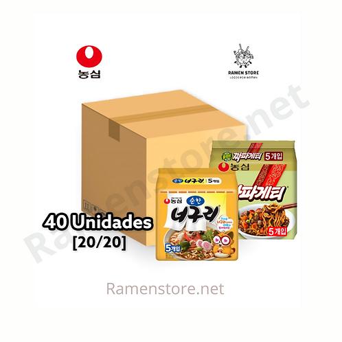 Caja Chapaguri Medio [20Chapaguetti+20Noguri]