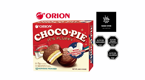 Chocopie Orion - Caja 12 unidades.