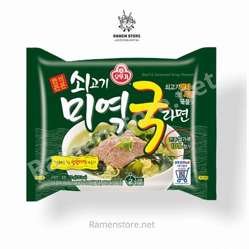 Ramen Miyeok Guk [Carne de res y Alga] Sin picante