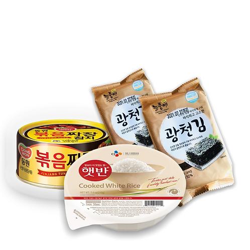 Pack Agridulce ( Arroz blanco+2 Algas + 1 Atun Agridulce)