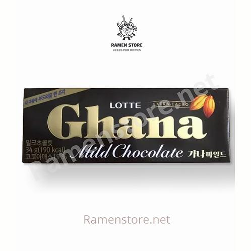 Chocolate Ghana [Extra cacao] Lotte 34g