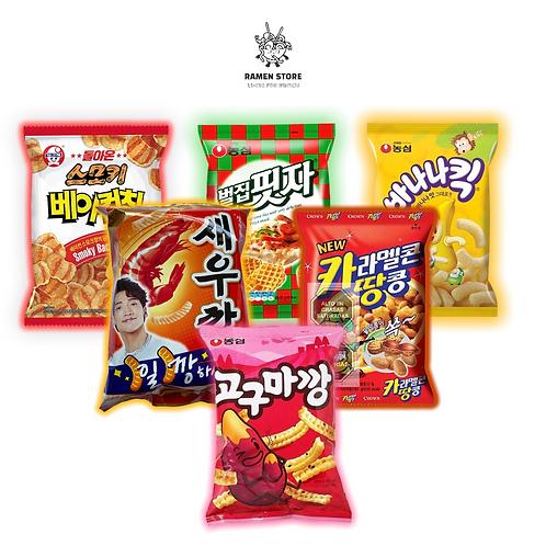 Pack Snack Surtido [6 Unidades]