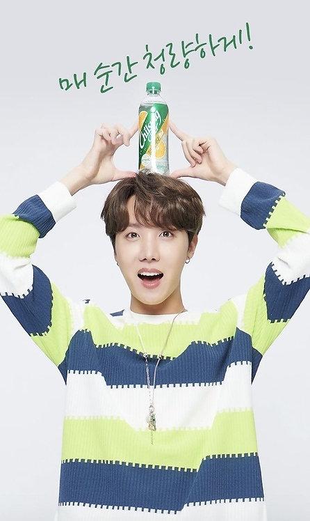 "Chilsung Cider - Edicion BTS "" JHOPE"""