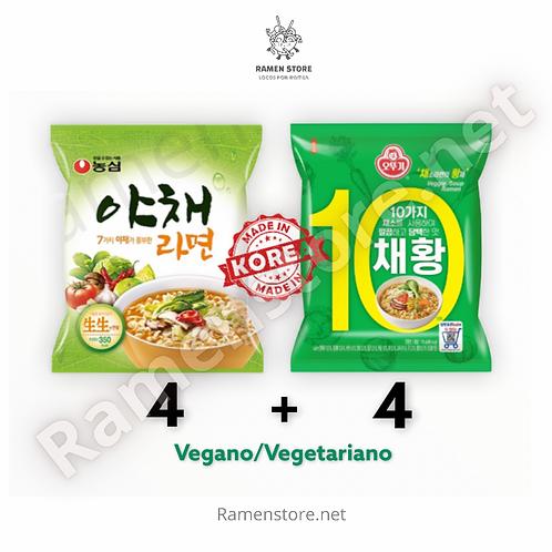 Pack Vegano 8 Unidades