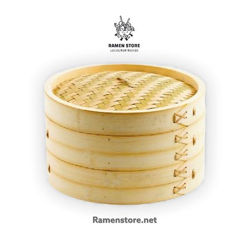 Vaporera de bambu - 24 cms