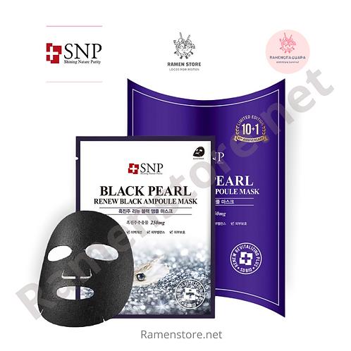 Black Pearl, Ampolla Mascaras Faciales de Perlas Negras SNP