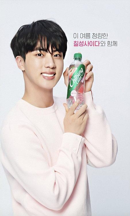 "Chilsung cider - Edicion BTS ""JIN"""
