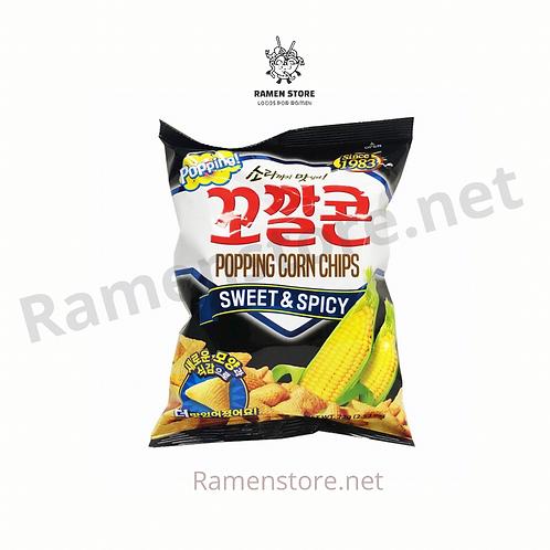 Popping Corn Chips [Snack de maiz]