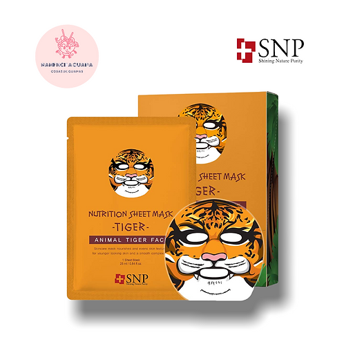 Mascarilla Facial Reparadora Tigre SNP