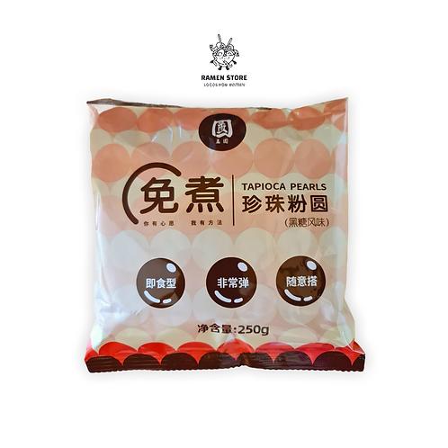 Perlas de Tapioca para bubble tea - Origen Taiwanes