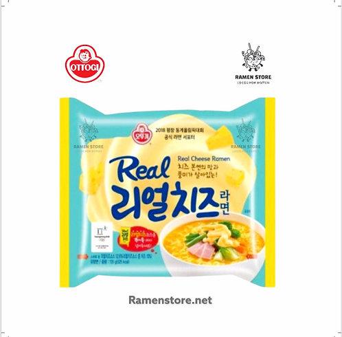 "Real Cheese Ramen  ""Muy suave picor"""